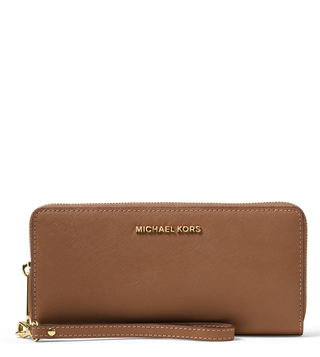 Michael Michael Kors Jet Set Travel Luggage Leather Wallet