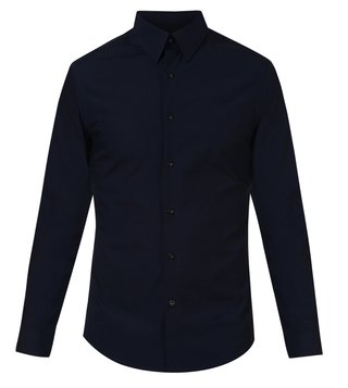 716e3486ca4 G-Star RAW Mazarine Blue Core Slim Casual Shirt ...