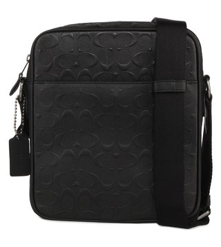 Coach Metropolitan Flight Qb Black Crossbody Bag