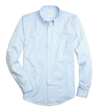 Brooks Brothers Light Blue Supima Cotton Button Down Shirt