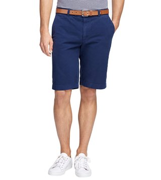 Brooks Brothers Garment Dyed 11 Dark Blue Bermuda Shorts