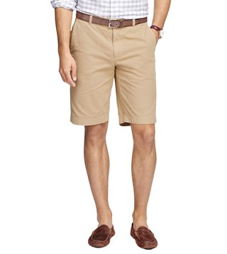 Brooks Brothers Garment Dyed 11 Light Tan Bermuda Shorts