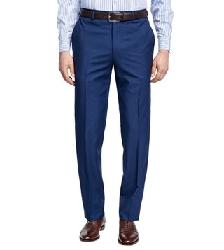 Brooks Brothers Blue Reg Checks Trouser