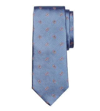 Brooks Brothers Blue Printed Pine Tie