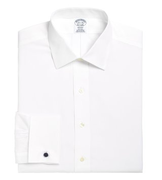 Brooks Brothers White NI Regent Fit Dress Shirt