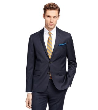 Brooks Brothers Red Fleece Navy Suit Jacket