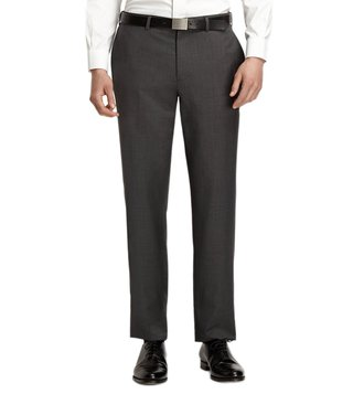 Brooks Brothers Red Fleece Grey Suit Trousers