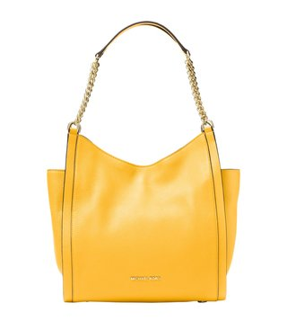 Michael Michael Kors Newbury Sunflower Medium Shoulder Bag