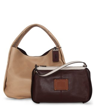 Coach 1941 Bandit Beechwood Glovetanned Hobo Bag