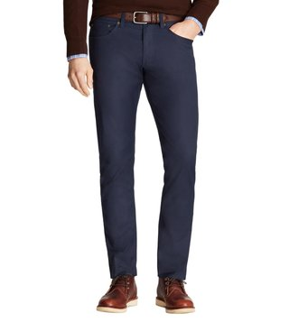 Brooks Brothers Navy Selvedge Twill Pants