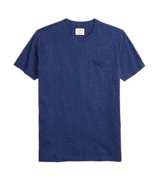 Brooks Brothers Red Fleece Indigo Cotton Jersey T Shirt