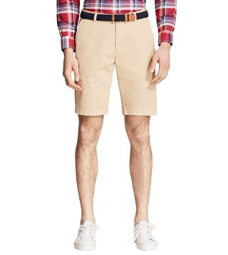 Brooks Brothers khaki Garment-Dyed Bermuda Shorts