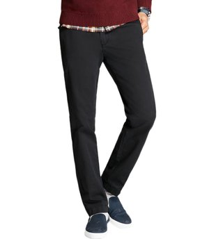 Brooks Brothers Red Fleece Black Slim-Fit Stretch Chinos