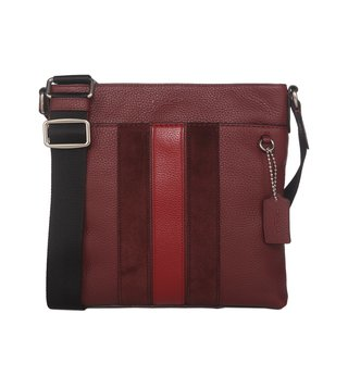Coach Metropolitan Ak-Brick Red Cherry Messengers Bag