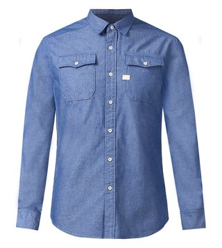 G-Star RAW Blue Landoh Slim Fit Shirt