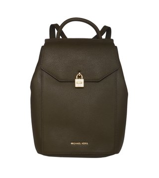 Michael Michael Kors Mercer Olive Medium Backpacks