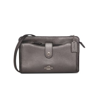 Coach Metallic Pop Up Messenger Bag