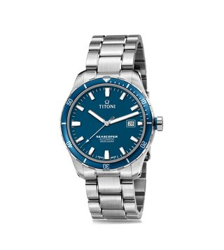 Titoni Seascoper 83985 SBB-518 Analog Watch for Men