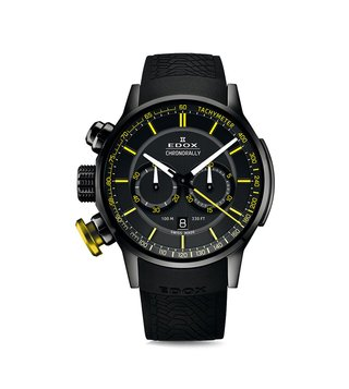 Edox Chronorally 10302 37NJ NOJ3 Analog Watch for Men