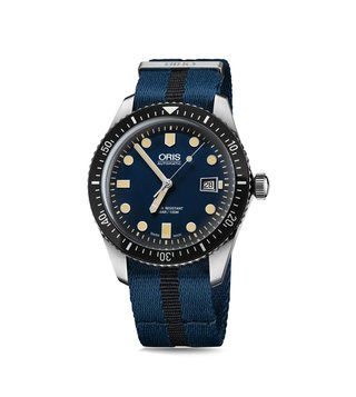 Oris Diving 01 733 7720 4055-07 5 21 28FC Analog Watch for Men