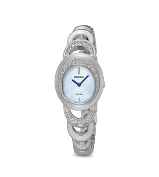 Seiko Solar SUP295P1 Analog Watch for Women