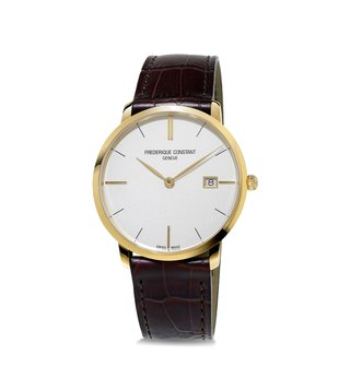 Frederique Constant FC-220V5S5 Slimline Analog Watch for Men