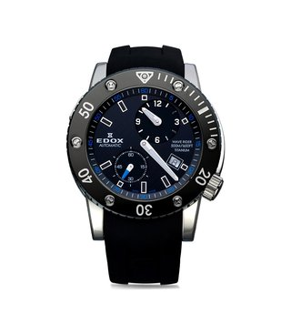 Edox 77001 TIN NIBU Chronoffshore 1 Analog Watch for Men