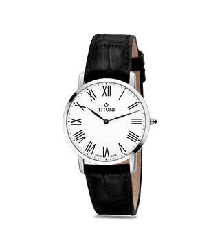 Titoni TQ 52918 S-ST-584 Slenderline Analog Watch for Men