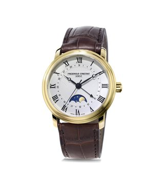Frederique Constant FC-330MC4P5 Auto Moonphase Analog Watch