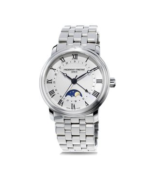Frederique Constant FC-330MC4P6B Auto Moonphase Analog Watch