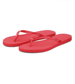 Armani Exchange Rose Coral Classic Flip-Flops