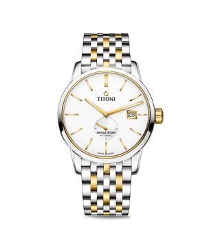 Titoni 83638 SY-606 Space Star Analog Watch for Men