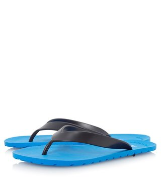 Dune London Blue-Synthetic Islander Thongs