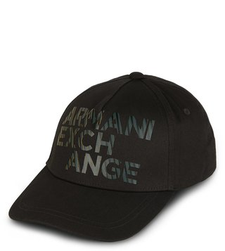 Armani Exchange Cypress Outline Logo Baseball Cap