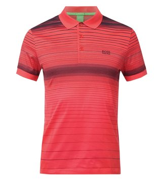 Boss Green Pink Regular Fit Paddy 3 Polo T-Shirt