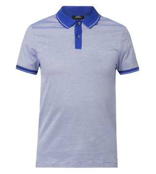 Hugo Boss Open Blue Slim Fit Phillipson 14 Polo T-Shirt