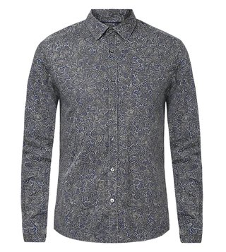 BOSS Blue Regular Fit Lukas Shirt