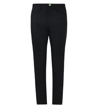 Boss Green Black Tapered Fit Water Repellent Trousers