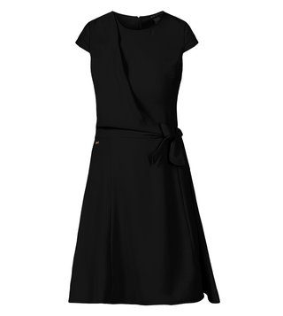 Armani Exchange Black Above Knee Dress
