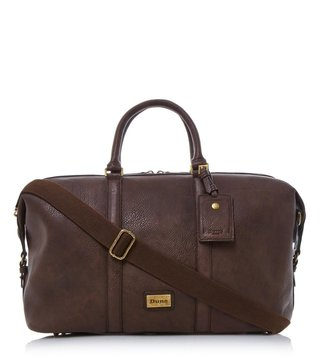 Dune London Brown-Synthetic Large Nepal Casual Holdall Bag
