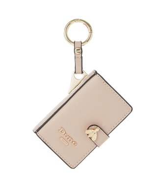 Dune London Blush Synthetic Small Samille Wallet