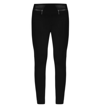 Armani Exchange Black Skinny Fit Leggings