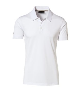Porsche Design White Short Sleeves M Pique T-Shirt