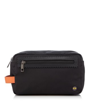 Kit Neale X Dune London Black Puffer Small Wash Bag