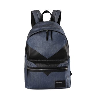 Diesel Blue V4 Denim Backpack