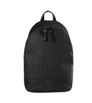 Diesel Grey Denim T Backpack