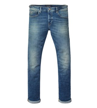 Scotch & Soda Blue Ralston Laced With Dust Jeans