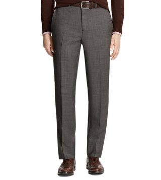 Brooks Brothers Brown Regent Fit Houndscheck Trousers
