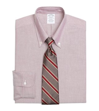 Brooks Brothers Red Regent Fit Oxford Dress Shirt