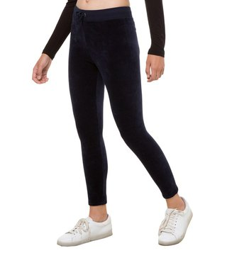 Juicy Couture Regal Stretch Velour Rodeo Drive Leggings